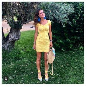 Zara dress with ruching (3564)